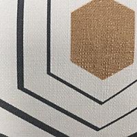 Papier peint vinyle sur intissé GoodHome blanc or