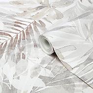 Papier peint vinyle sur intissé GoodHome Jarava beige