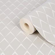 Papier peint vinyle sur intissé GoodHome Lanaria beige