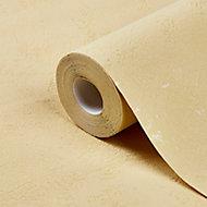 Papier peint vinyle sur intissé GoodHome Lancon jaune