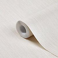 Papier peint vinyle sur intissé GoodHome Lery beige