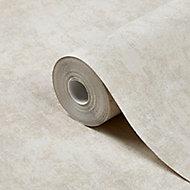 Papier peint vinyle sur intissé GoodHome Sarry beige 53cm