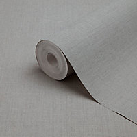 Papier peint vinyle sur intissé GoodHome Tille gris