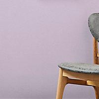 Papier peint vinyle sur intissé GoodHome Tille violet