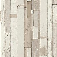 Papier peint vinyle sur intissé Laas GoodHome beige