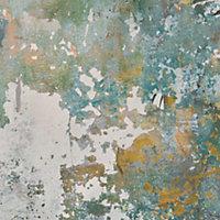 Papier peint vinyle sur intissé Nivosa vert