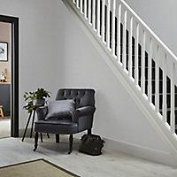 Papier peint vinyle sur papier duplex Vauquois gris clair