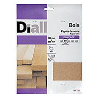 Papier silex gros grain Diall