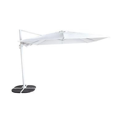 Parasol Deporte Blooma Astor Blanc O300 Cm Castorama