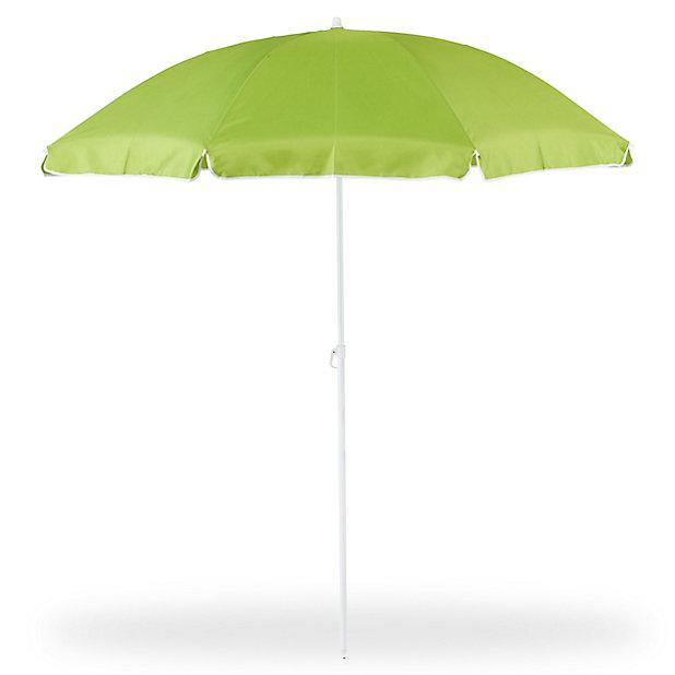 Parasol De Plage Blooma Curacao Vert O180 Cm Castorama