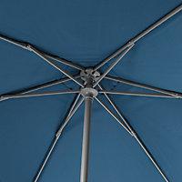 Parasol GoodHome Carambole bleu ø200 cm