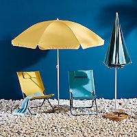 Parasol OPP Curacao bleu ø180 cm