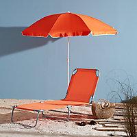 Parasol OPP Curacao orange ø180 cm