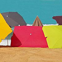 Parasol Tendances et Créations Peps anthracite 210 x 150 cm