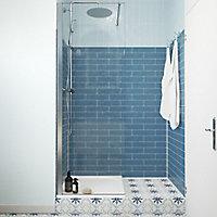 Paroi de douche à l'italienne GoodHome Beloya transparente 70 cm