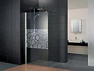 Paroi de douche à l'italienne Newstyle Cercle 120 cm