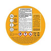 Patine boiseries Liberon effet métalisé blanc colombe 0,15L