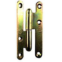 Paumelle droite bronze 80 x 40 mm