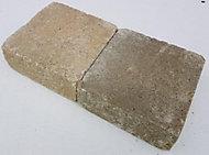 Pavé Cordes ton pierre 15 x 15 cm, ép.60 mm