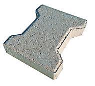 Pavé H gris 19,8 x 16,5 cm, ép.4,5 cm