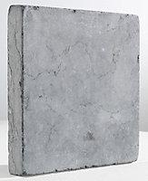 Pavé pierre bleue vieillie 15 x 15 cm, ép.2 cm