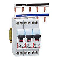 Peigne horizontal 13 modules réversibles Ph/N Legrand