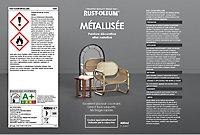 Peinture aérosol effet métallisé Rust-Oleum chrome cuivre 400ml