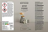 Peinture aérosol effet pierre Rust-Oleum blanc 400ml