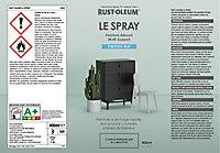 Peinture aérosol multisupport Rust-Oleum Le Spray blanc mat 400ml
