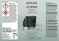 Peinture aérosol multisupport Rust-Oleum Le Spray noir brillant 400ml