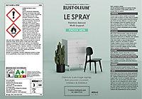 Peinture aérosol multisupport Rust-Oleum Le Spray noir satin 400ml