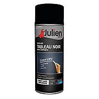 Peinture aerosol Julien noir mat