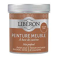 Peinture à base de caséine meubles Liberon velours ocre mat 0,5L