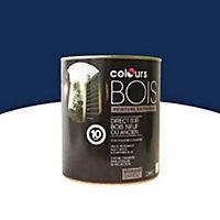 Peinture bois extérieur Colours bleu marine satin 0,5L
