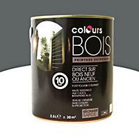 Peinture bois extérieur Colours granit satin 2,5L