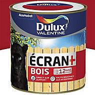 Peinture bois extérieur Dulux Valentine Ecran+ geranium satin 0,5L