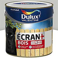 Peinture bois extérieur Dulux Valentine Ecran+ gris clair satin 2L