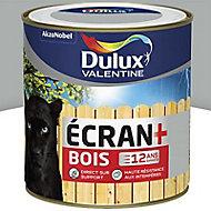 Peinture bois extérieur Dulux Valentine Ecran+ gris franc satin 0,5L