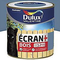Peinture bois extérieur Dulux Valentine Ecran+ orage satin 0,5L