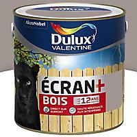 Peinture bois extérieur Dulux Valentine Ecran+ terre cendrée satin 2L