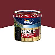 Peinture bois extérieur Dulux Valentine rouge basque satin 2L + 20%
