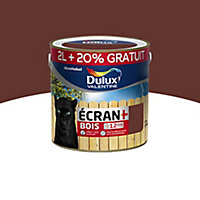 Peinture bois extérieur Dulux Valentine ton bois satin 2L + 20%