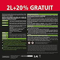 Peinture bois extérieur premium gris anthracite Tollens 2L + 20% gratuit