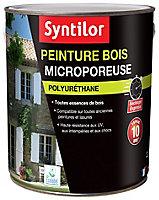 Peinture bois microporeuse intérieur extérieur brun normand Syntilor 2,5L