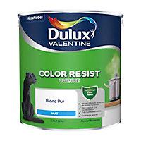 Peinture cuisine Dulux Valentine Blanc mat 2,5L