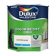 Peinture cuisine Dulux Valentine lait d'amande mat 2,5L
