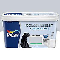 Peinture cuisine et salle de bain Dulux Valentine Color resist hammam satin 2L
