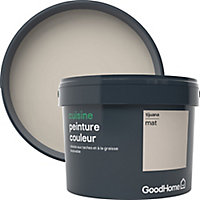 Peinture cuisine GoodHome beige Tijuana mat 2,5L