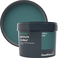 Peinture cuisine GoodHome vert Milltown mat 2,5L