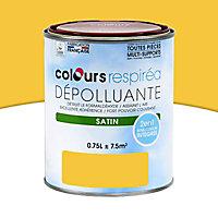 Peinture dépolluante douceur de miel satin 0,75L